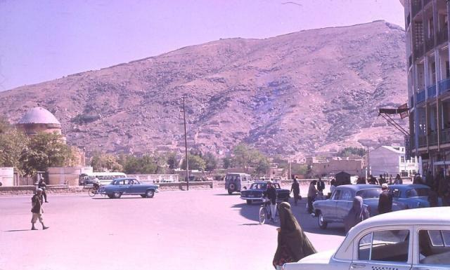 60年代阿富汗 首都喀布尔的苏联伏尔加小车 岁月静好的日子