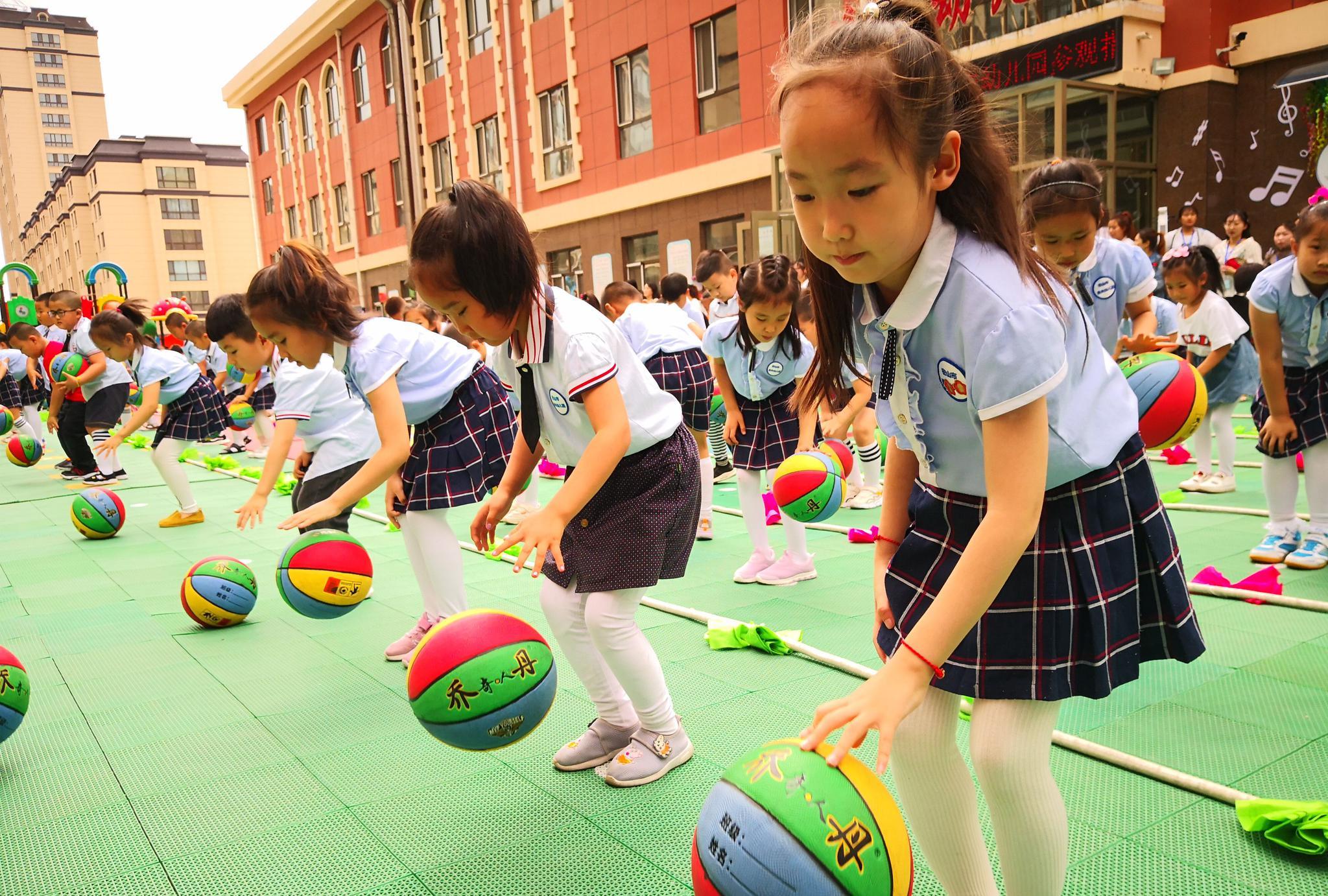 密山市逸夫幼儿园特色体育活动展示