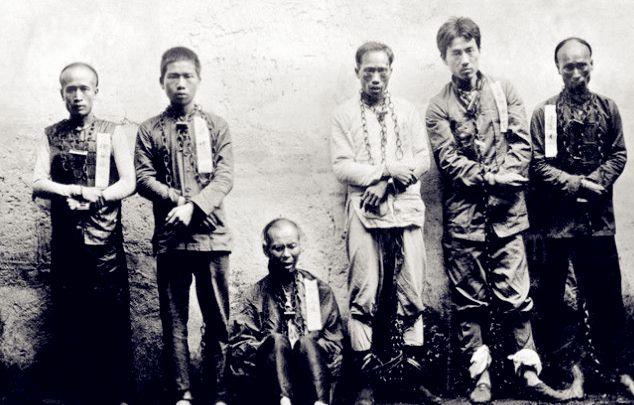 珍贵老照片:被捕后临刑前的黄花岗众烈士