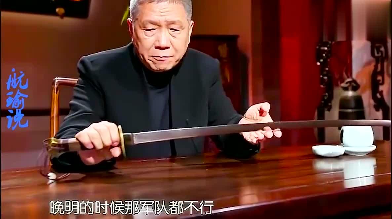 这是观复博物馆收藏的400多年前的一把抗倭名刀