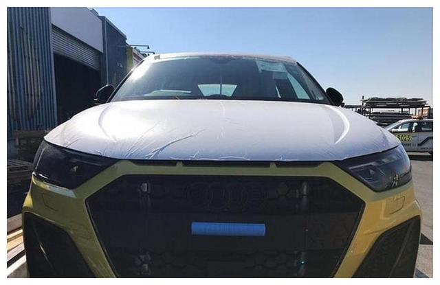 奥迪全新A1低伪装实车亮相 造型短小精悍/年底国内上市