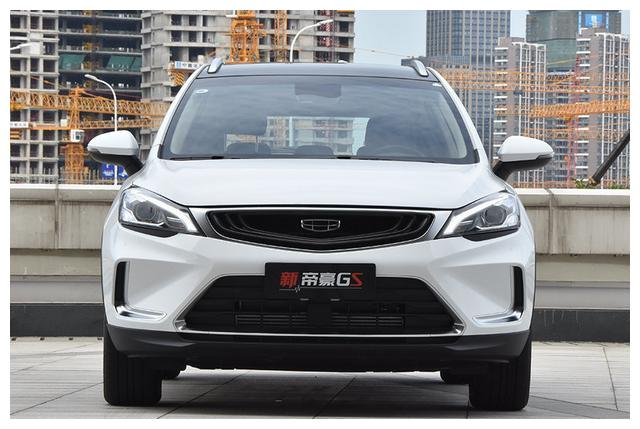 起售价仅7万多的吉利SUV,ESP和天窗全都有,月均销量超8千台