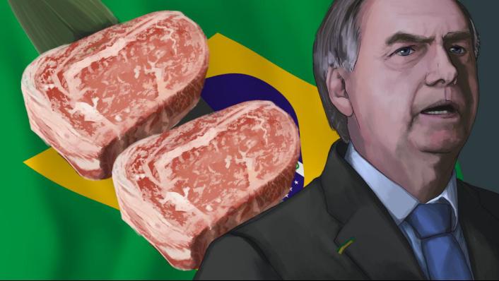 最新:数十批巴西涨价牛肉运抵中国!部分中国买家却拒绝付款
