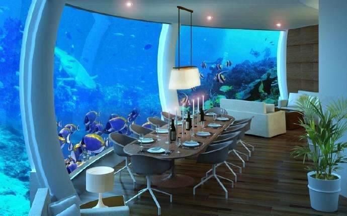 """全球首个""""水下酒店"""",4.9亿建成,仅21间客房,住一晚3.8万"""