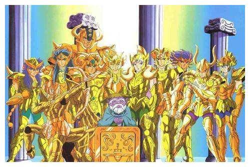 《圣斗士星矢》——最合理的十二星座实力排名,顶点也分高低