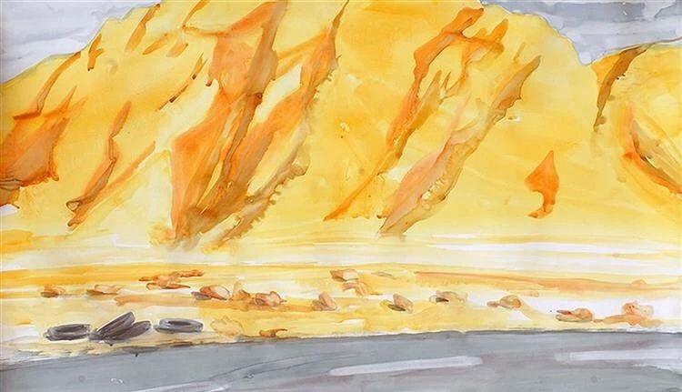 色彩的盛宴,伊朗抽象派画家 Mosrafa Dashti绘画作品欣赏