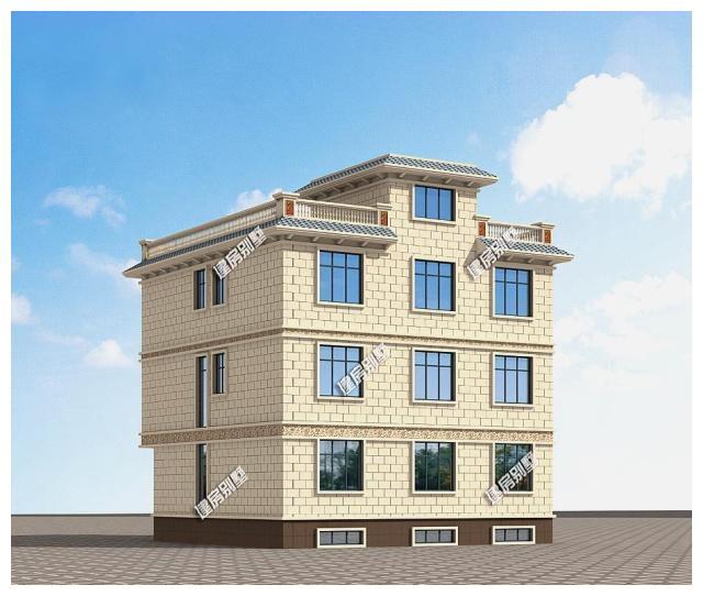 8×13.8三层平顶小区,带地下室车库酒窖v小区,8主卧别墅别墅青岛市石苑图片