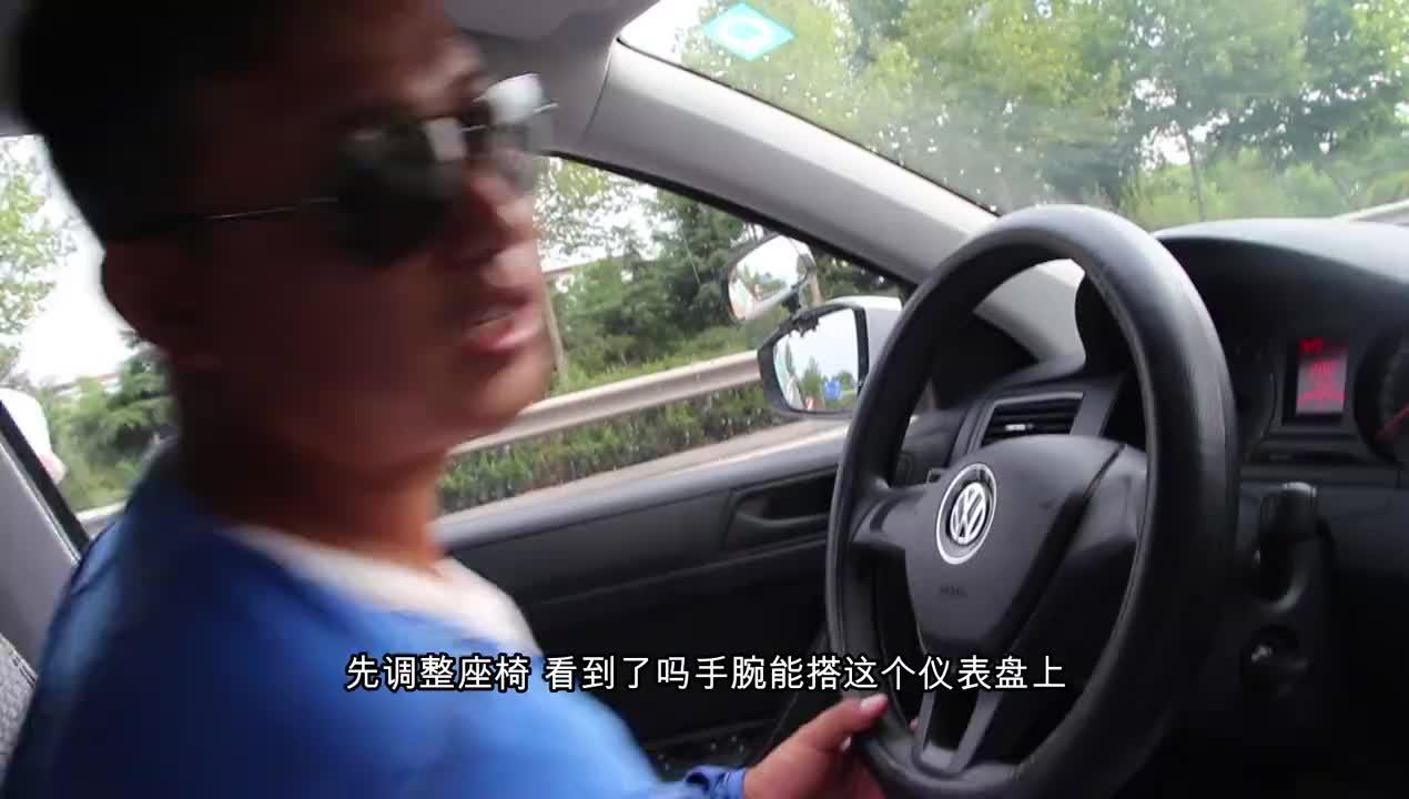 科目三,新手教学驾考技能具体示范多看几遍考试会轻松