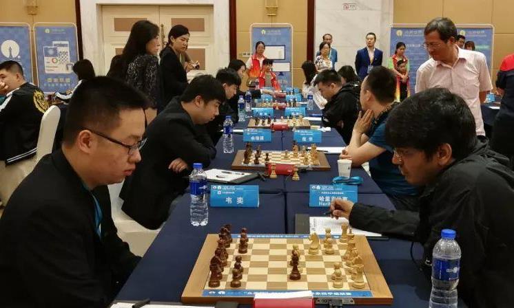 2019国象甲级联赛白雪专场揭幕:上海达成九连胜