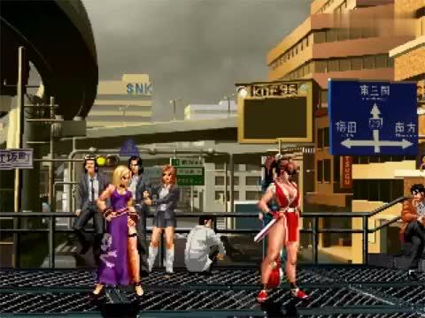 拳皇:不知火舞和珍妮特两位东西方的女神对决,你更看好哪位?