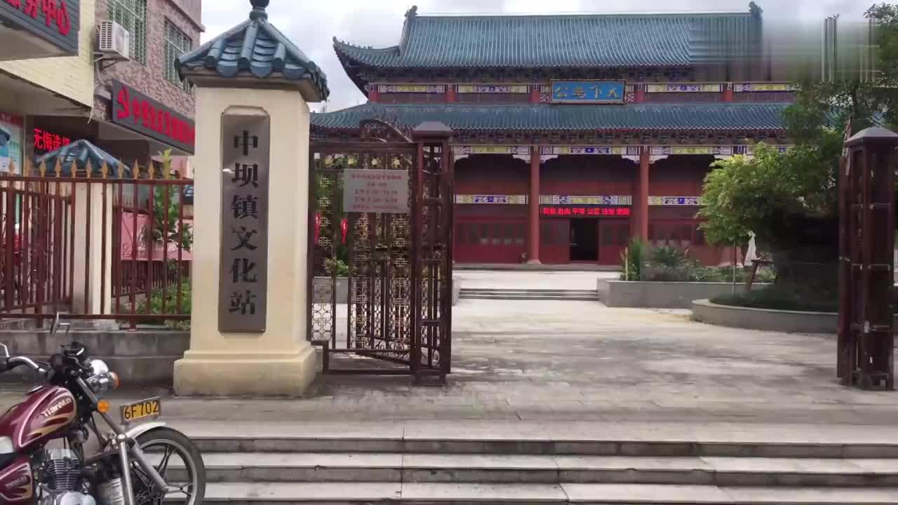 河源紫金县,参观镇上孙中山纪念馆