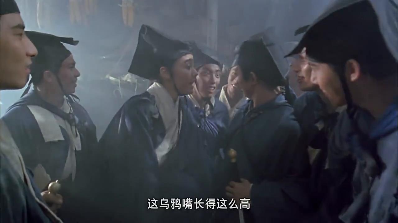 笑傲江湖:李嘉欣被师兄弟取笑调侃,女神扮男装撒娇,杀伤力爆表