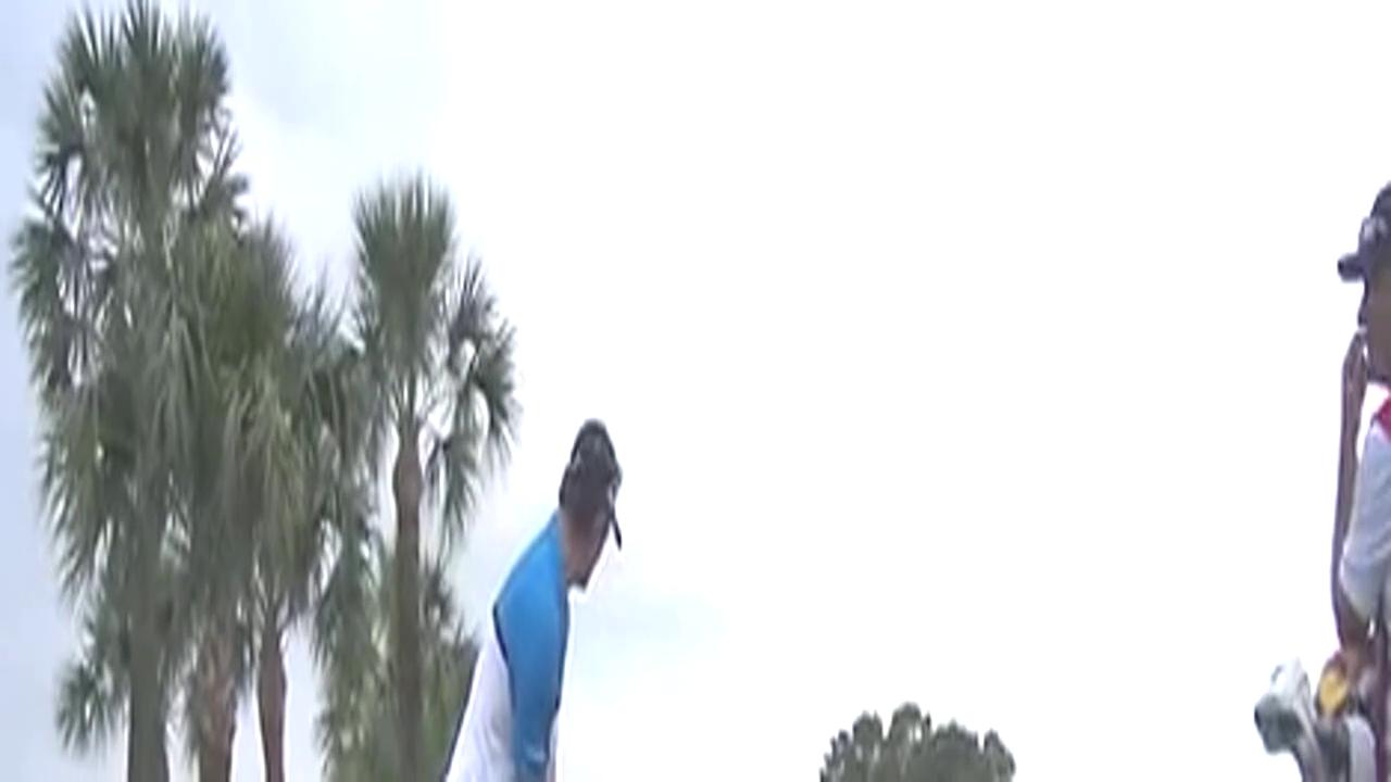 高尔夫动作教学 贾斯汀罗斯球道木击球集锦