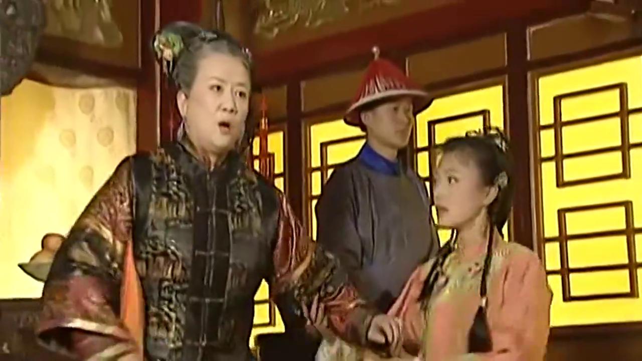 还珠格格:老佛爷不听紫薇的话,永琪和小燕子在为尔康求情!