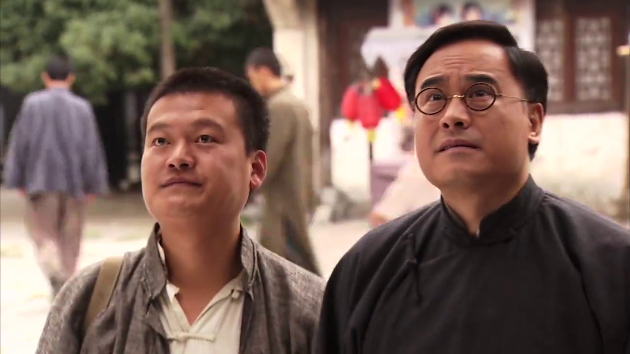 健龙请崔家人到庆安堂坐诊,借机与元彬合作,文彬却在想着抢遗产