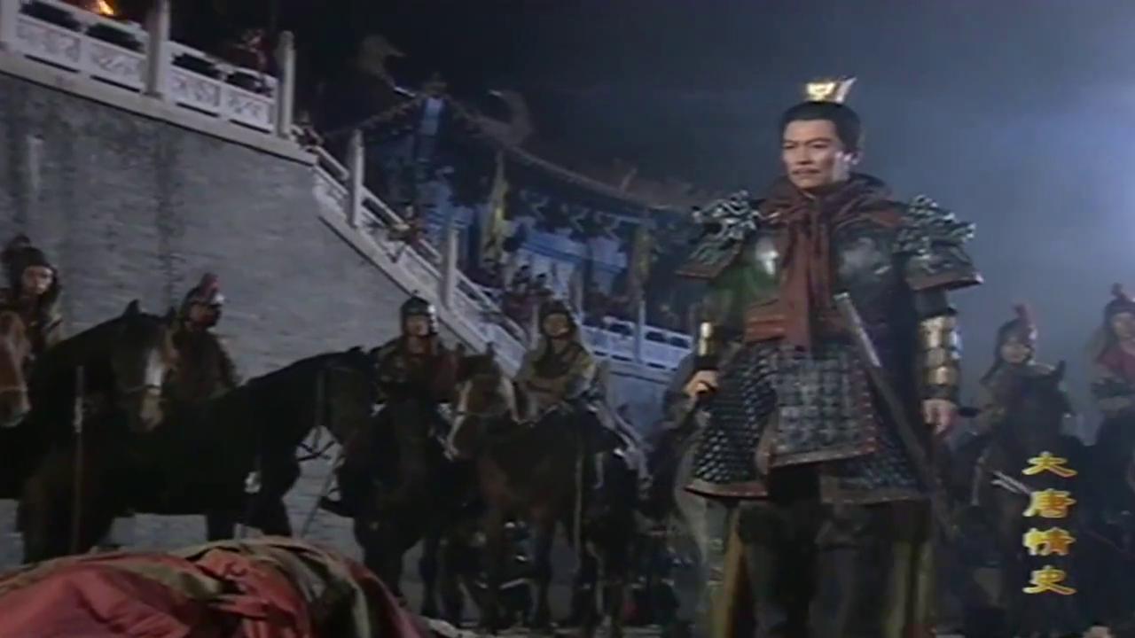 大唐情史:太子要掐死李世民,可惜还是没他福大命大!