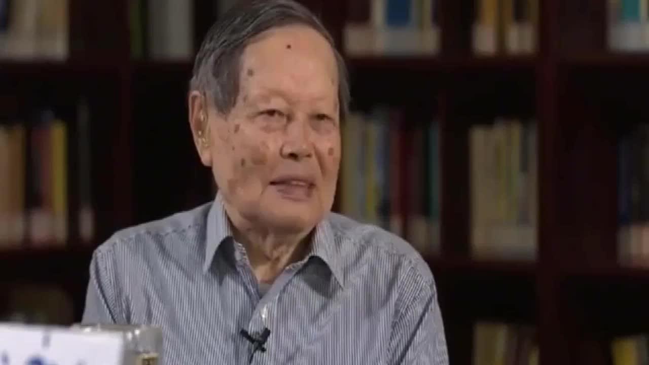 杨振宁最聪明的人在美国容易发展比如费曼要在中国会出问题