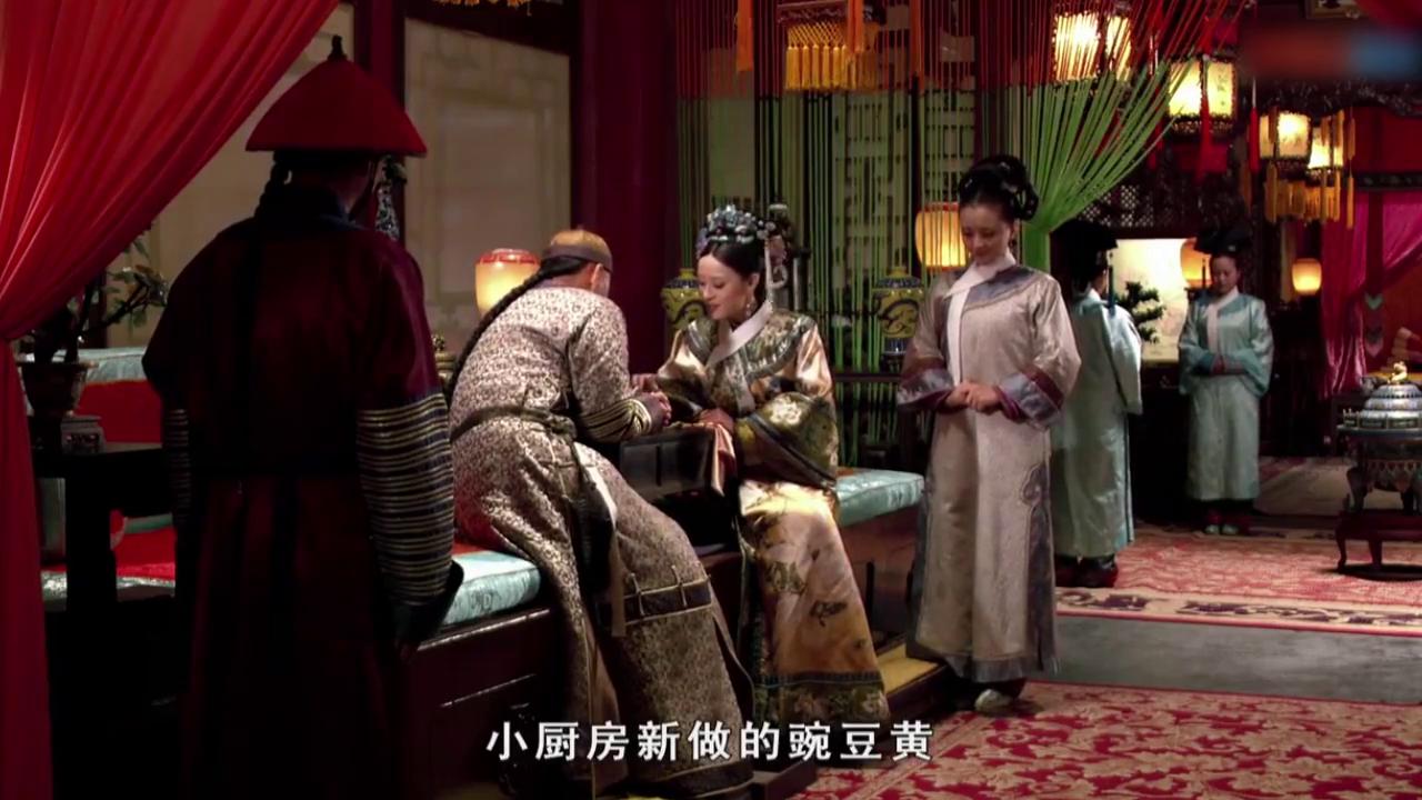 甄嬛传:皇上听到关于甄嬛不好的言论,甄嬛却毫不在意