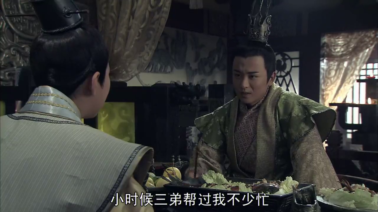 大风歌:刘盈珍惜兄弟情义,赵王也回忆起儿时记忆