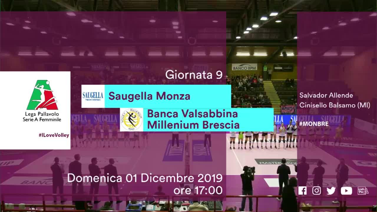 12月1日蒙扎女排战胜布雷西亚女排亮点意大利女排a1联赛