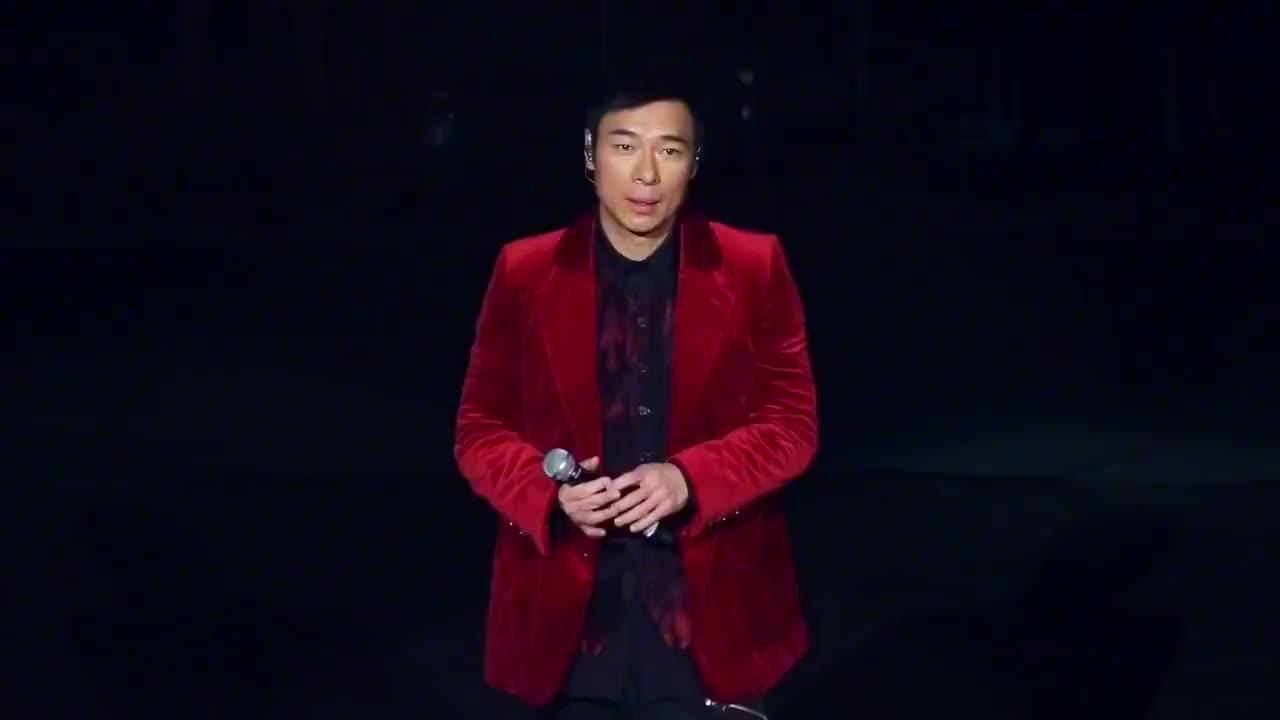 许志安演唱《你的男人》,演绎最深情的告白走心演唱感动全场