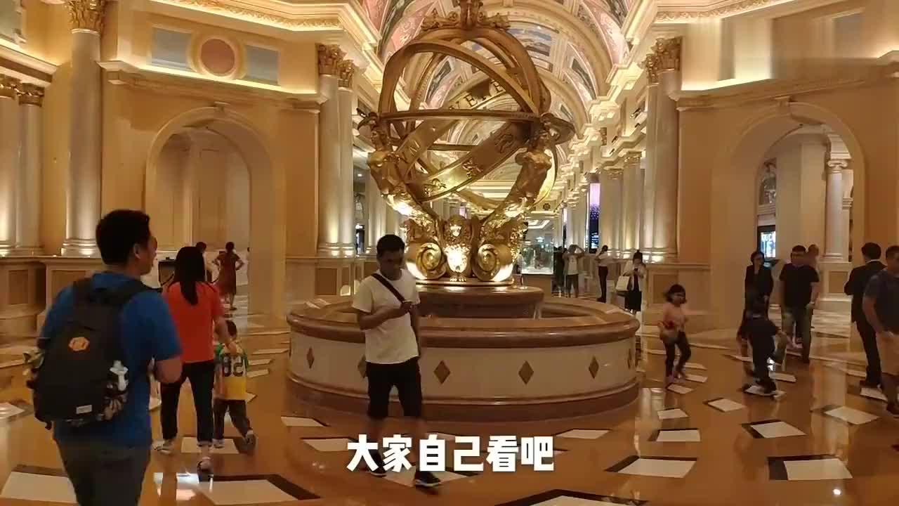 极度奢华堪比皇宫带你去看看全球最牛的赌场澳门威尼斯人