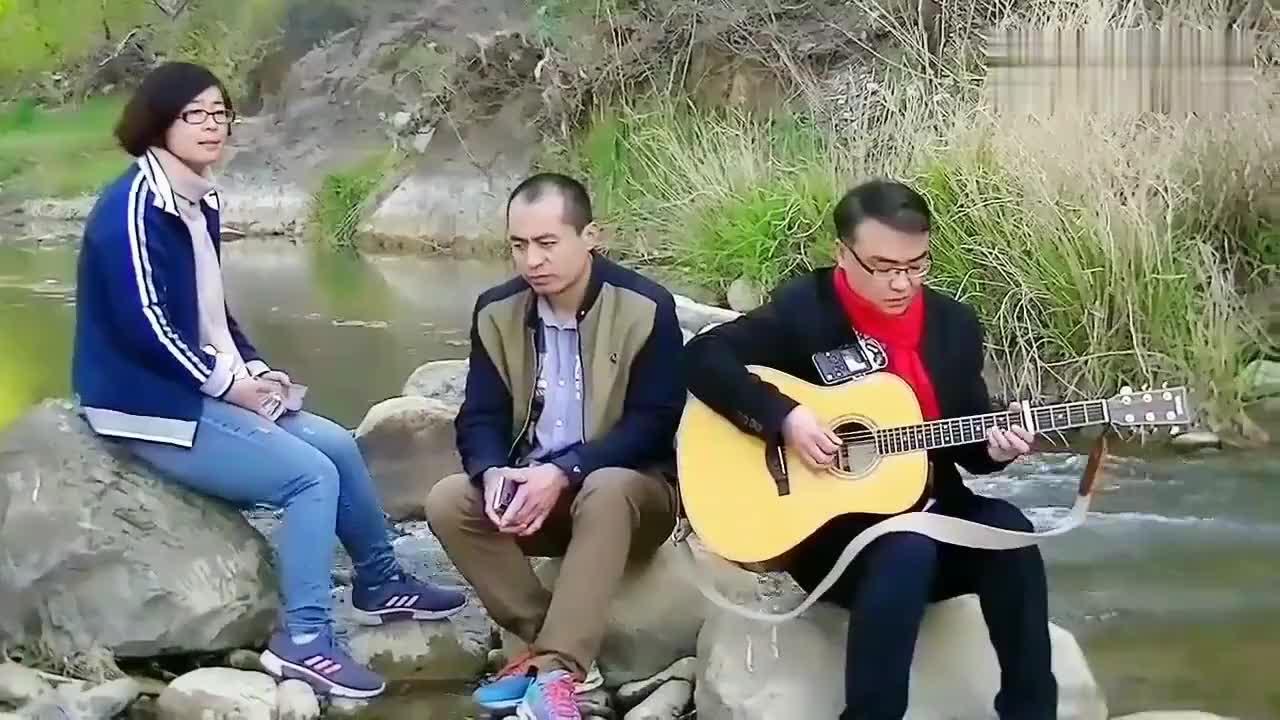 牧羊曲吉他弹唱徐建顺录于承德兴隆青松岭景区