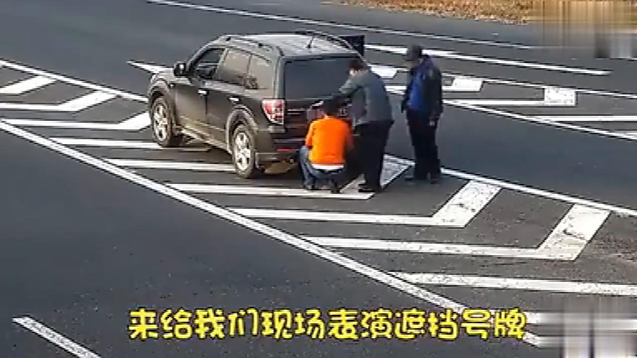 交通监控拍下气人一幕,高速公路掉头逆行,完全不把生命当回事