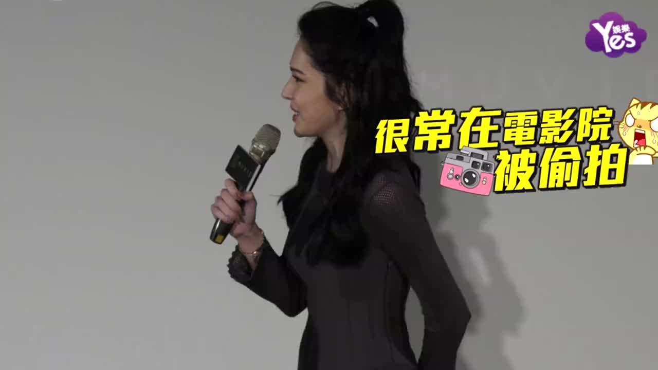 许玮宁向jolin致敬喊话当动感歌手自嘲跟男友约会被狗仔拍超无奈