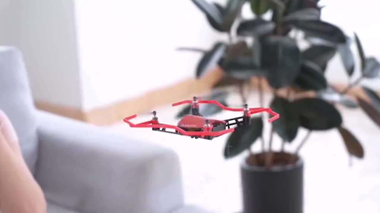 中国首款意念无人机利用脑电波控制飞行解放双手和遥控器