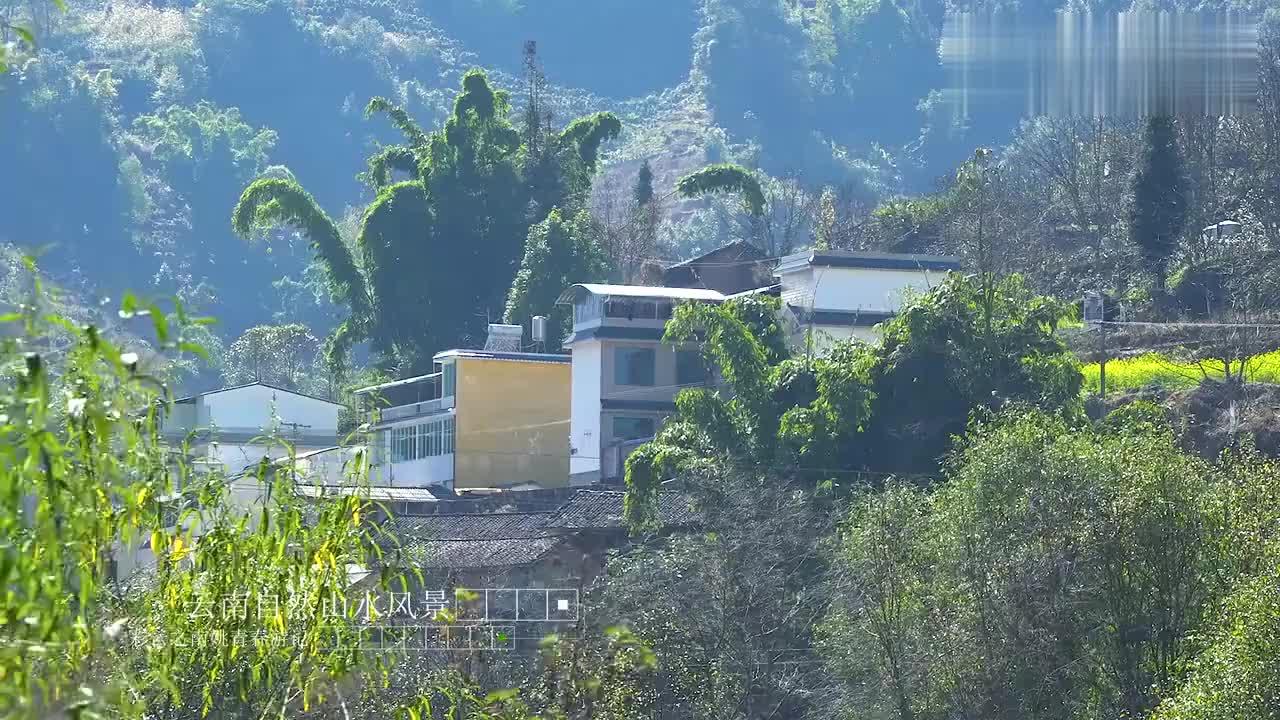 姚青春回云南老家旅游途径临沧凤庆勐佑偶遇自然风光山水风景