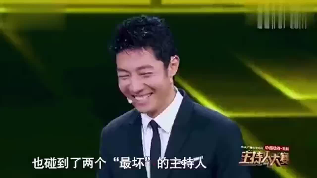 主持人大赛总决赛董卿康辉轮流指点张舒越真是太厉害了