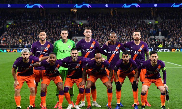 欧冠1/8决赛,热刺1-0曼城高清图集!