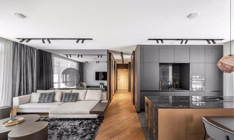 高级灰质感的家居设计,这是我见过最温暖的灰色
