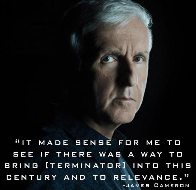 卡梅隆解读幕后《终结者:黑暗命运》是让施瓦辛格告别最好的时候