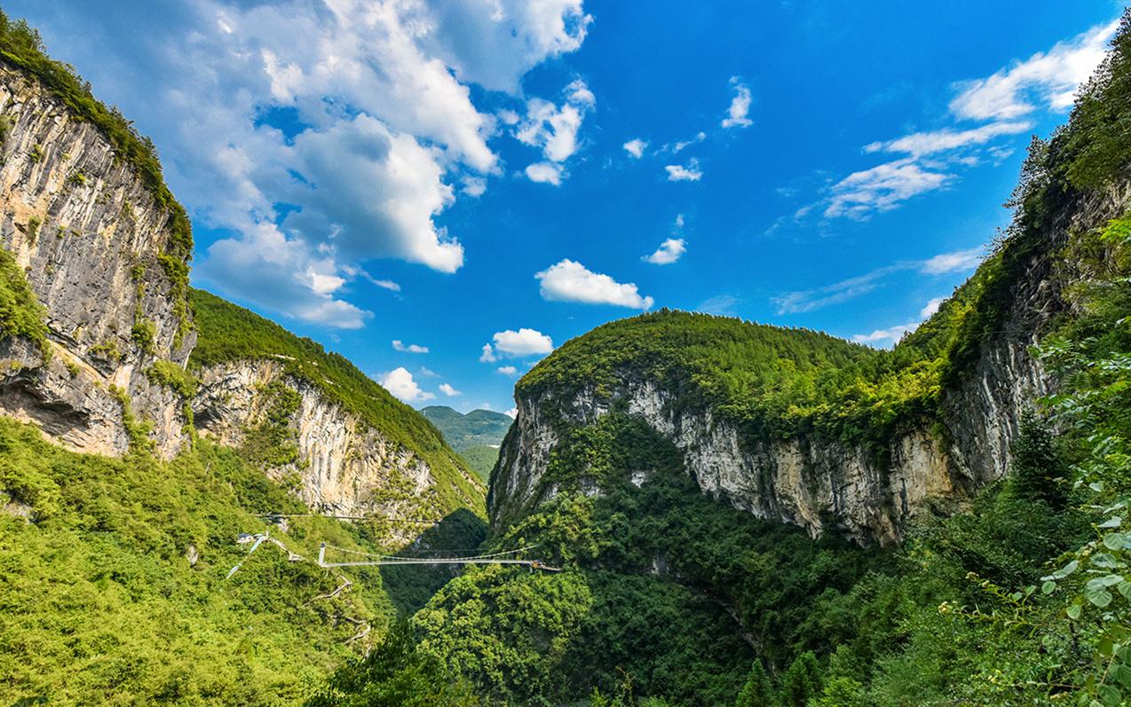 恩施地心谷有一古道,与五千年中华文明同生,称为历史的高速公路