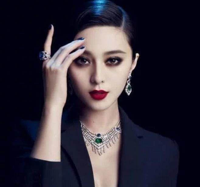 女星烟熏妆:范冰冰女神,郭采洁显清纯,网友:最后一位中毒了?