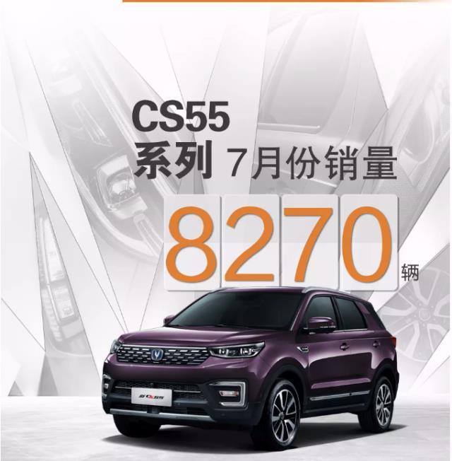 淡季不淡双车过万,长安系中国品牌7月销量82791辆!