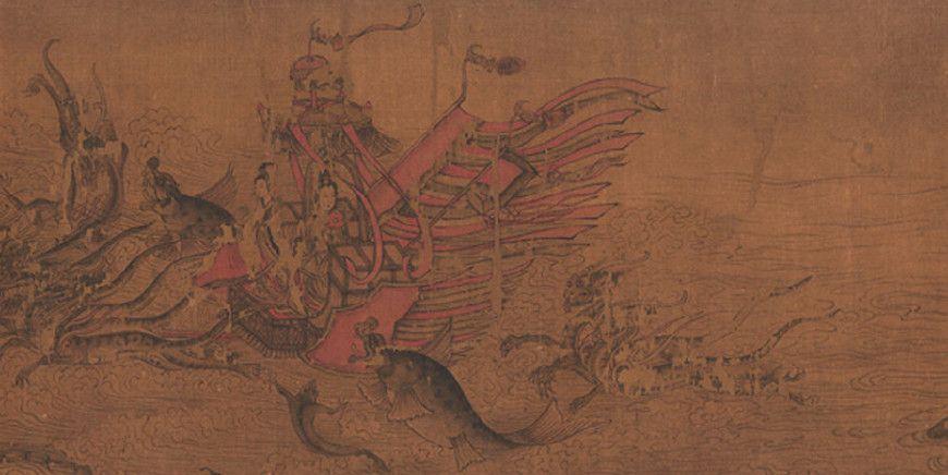 中国十大传世名画之一,快来欣赏一下《洛神赋图》吧!
