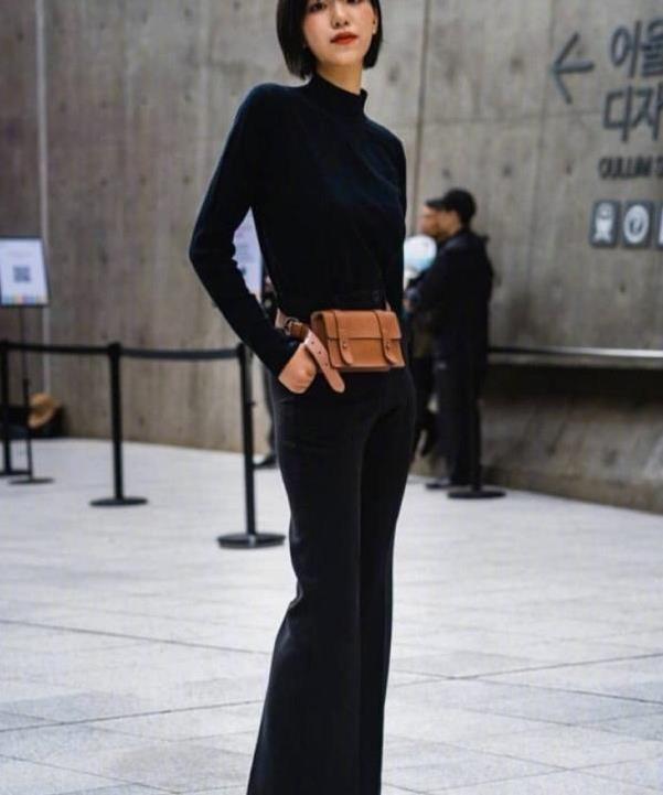 韩国时装周外小姐姐们的街拍,也是今年秋冬流行的穿搭,速度学起