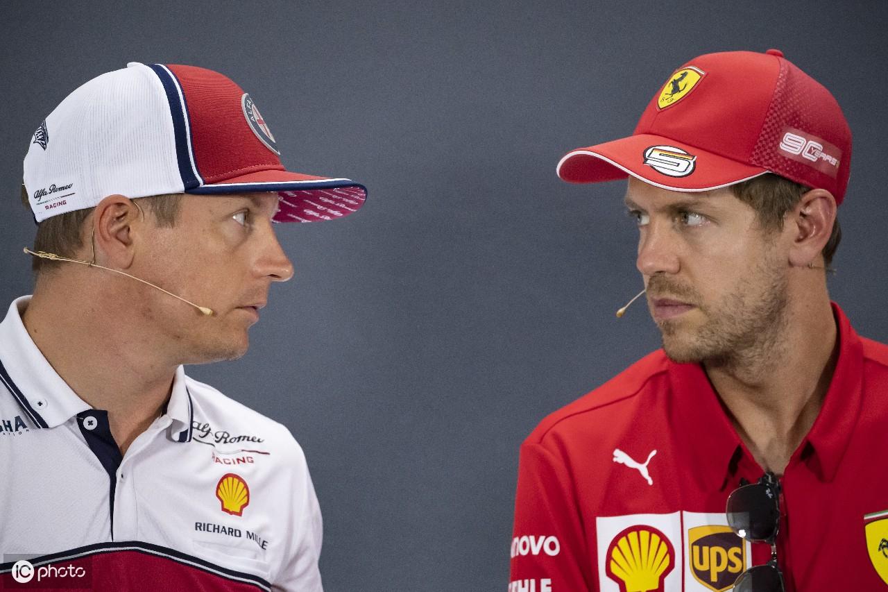 F1德国站周末打响,维特尔莱科宁出席发布会