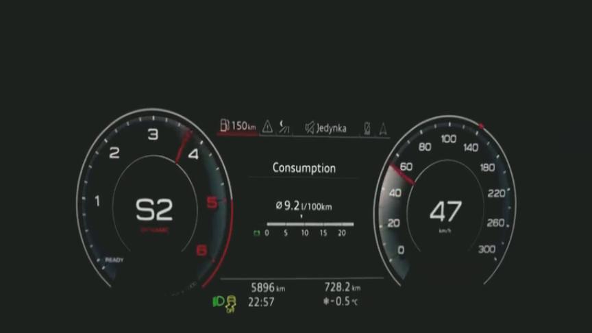 视频:做了个加速测试,才知道新款奥迪A6加速有多强悍