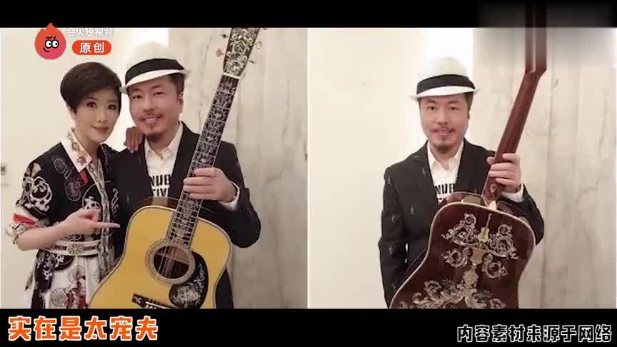 实力宠夫寇乃馨送360万吉他给黄国伦,曾为他办演唱会亏损千万