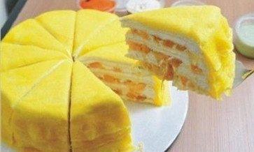 香香脆脆榴莲芝士蛋糕,好吃没商量