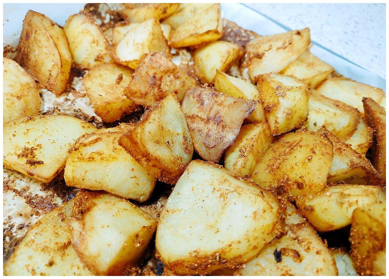 简易版烤土豆的做法
