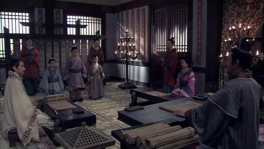 大风歌:皇帝叫来三个小儿子,亲自考察他们的功课