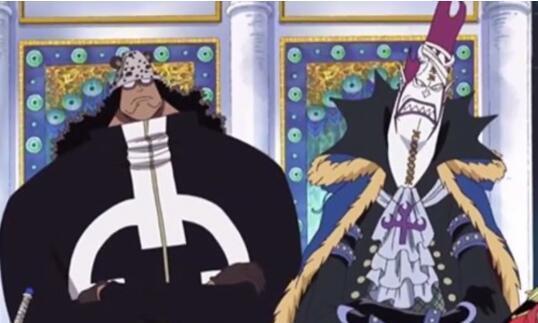 海贼王:艾斯处刑前七武海聚集,坐姿决定了每个人命运