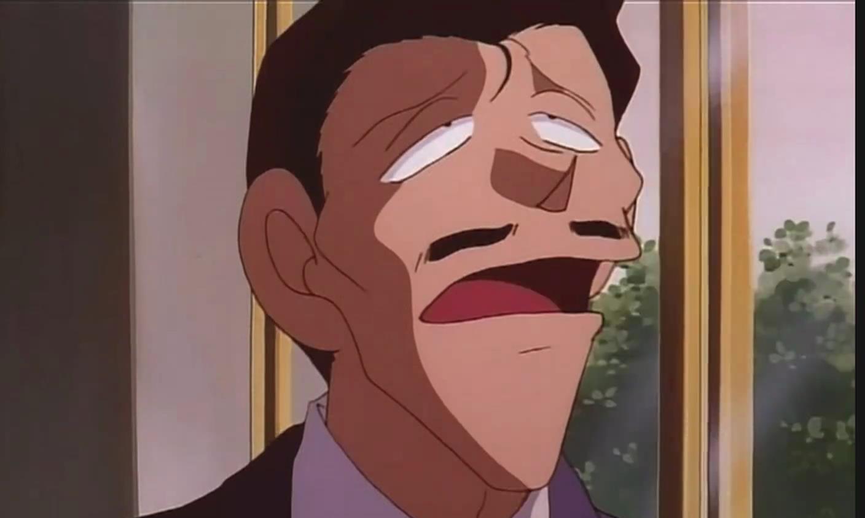 名侦探柯南:小五郎分析完案件没有离开,被小兰认为是沉思自责!