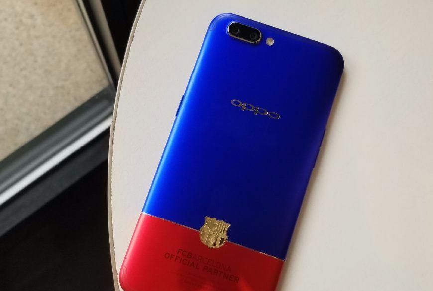 两台OPPO R11,撞色设计明显更骚