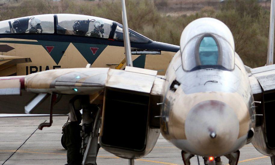 """世界上唯一还在服役的美制F-14""""雄猫""""战机最近的新照"""